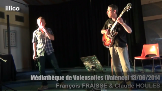 Concert Médiathèque Valensolles